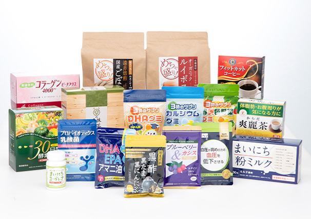健康食品・機能性表示食品・特定保健用食品